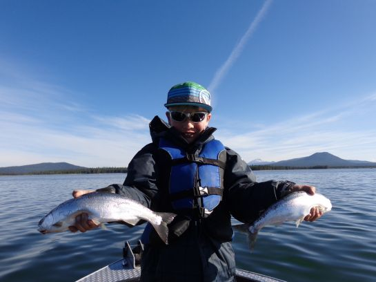 Ifish oregon fishing guides and charters in for Wickiup reservoir fishing
